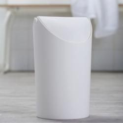 Корзина для мусора Jim, 3,25 л белая, Koziol