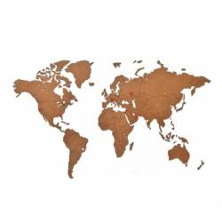 Карта-пазл wall decoration, 90х54 см, коричневая, Mimi