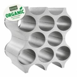 Подставка для бутылок set-up organic, серая, Koziol