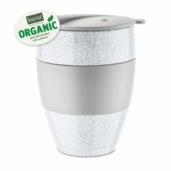 Термокружка aroma to go 2.0 organic, 400 мл, серая, Koziol