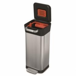 Контейнер для мусора с прессом Titan 20 л нержавеющая сталь