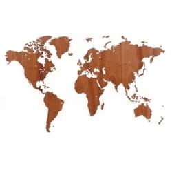 Карта-пазл wall decoration exclusive, 130х78 см, африканское сапеле, Mimi