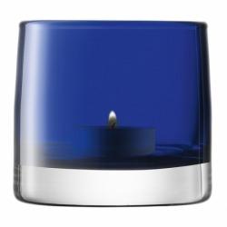 Подсвечник для чайной свечи Light Colour синий, LSA