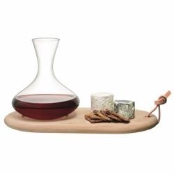 Набор Wine из декантера 1,4 л и сырной доски, LSA