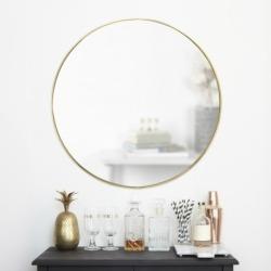 Зеркало настенное Hubba 86 см латунь, Umbra