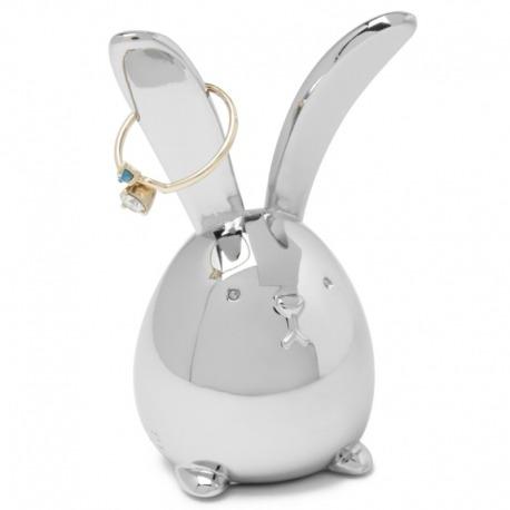 Подставка для колец SQUIGGY кролик хром, Umbra