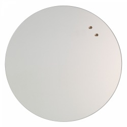Круглая стеклянная магнитно-маркерная доска Askell Round D45 см