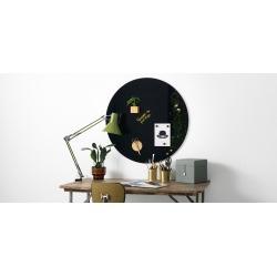 Круглая стеклянная магнитно-маркерная доска Askell Round D80 см