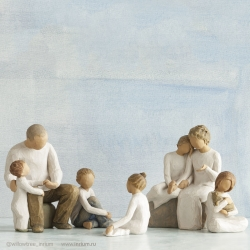 Семейная композиция № 15, Willow Tree