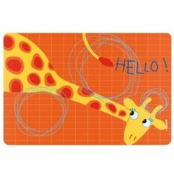 Коврик сервировочный детский Hello жираф, Guzzini