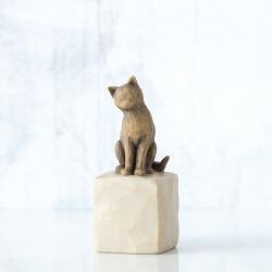 Статуэтка Willow Tree Люблю мою кошку (темная)/Love my Cat