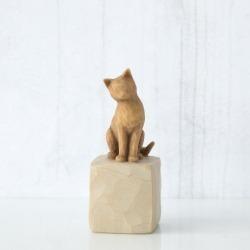 Статуэтка Willow Tree Люблю мою кошку (светлая)/Love my Cat