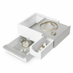 Шкатулка для украшений Stowit Mini никель, Umbra