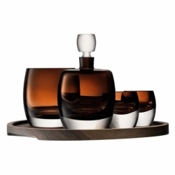Набор для виски с деревянным подносом Whisky Club
