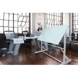 Поворотная стеклянная доска Askell Twirl 200х100 см