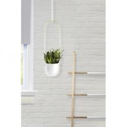 Горшок для растений Umbra подвесной белый