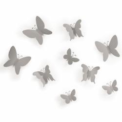 Декор для стен Mariposa 9 серый, Umbra