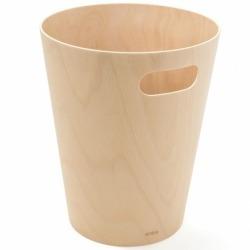 Корзина для мусора Woodrow натуральное дерево, Umbra