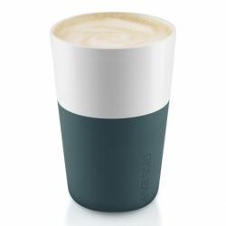Чашки для латте Eva Solo 2 шт 360 мл бирюзово-синий