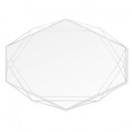 Зеркало декоративное Prisma белое, Umbra