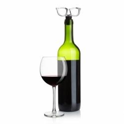 Пробка для бутылки glasses хром, Umbra