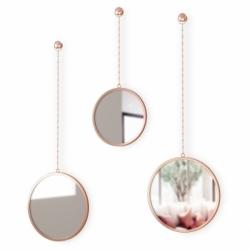 Зеркала декоративные Dima круглые медь, Umbra
