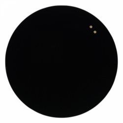 Круглая стеклянная магнитно-маркерная доска Askell Round D130 см