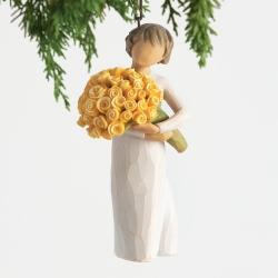Подвесное украшение Willow Tree Хорошее настроение (Good Cheer Ornament N)