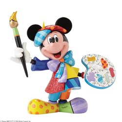 Фигурка Микки художник / Mickey Mouse Painter Figurine