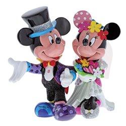 Фигурка Микки и Минни свадьба / Mickey & Minnie Mouse Wedding Figurine