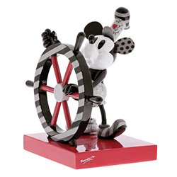 Фигурка Микки с штурвалом / Steamboat Willie Figurine
