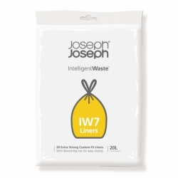 Пакеты для мусора iw7 20л экстра прочные (20 шт), Joseph Joseph