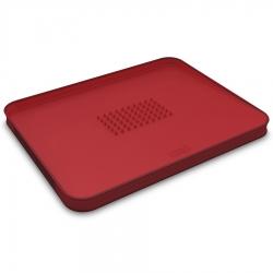 Доска разделочная для мяса Cut&Carve™ Plus двухсторонняя большая красная, Joseph Joseph