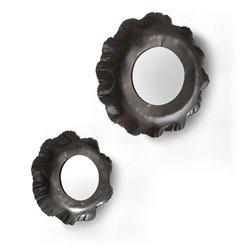 Комплект Karlo из 2 зеркал цинк, La Forma (ex Julia Grup)