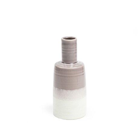Ваза ARCHETYP 28 см керамическая фиолетовая AA2471K17, La Forma (ex. Julia Grup)