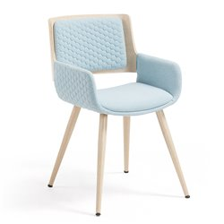 Кресло Andre синее, La Forma (ex Julia Grup)