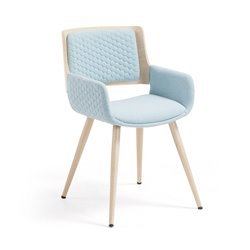 Кресло Andre синее, La Forma (ex. Julia Grup)