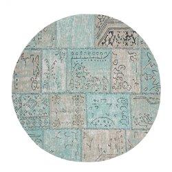 Коврик COLOR хлопок круглый 150 синий AA1788J26, La Forma (ex. Julia Grup)