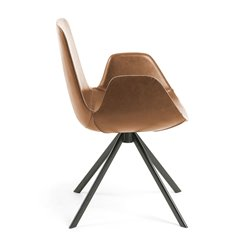 Кресло YASMIN светло-коричневое CC0827U10, La Forma (ex. Julia Grup)