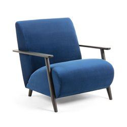 Кресло Marthan синее, La Forma (ex Julia Grup)