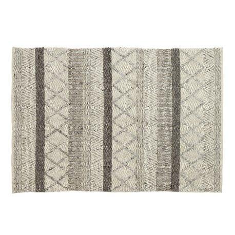 Ковер Klin 160x230 шерстяной серый, La Forma (ex. Julia Grup)