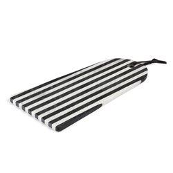 Разделочная доска Bergman мрамор белый черный, La Forma (ex Julia Grup)