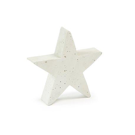 Фигурка Звезды 21x20 цемент белый, La Forma (ex. Julia Grup)