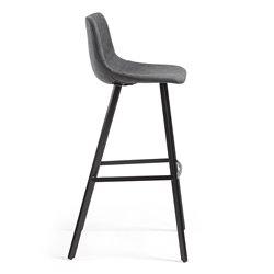 Барный стул Andi графит, La Forma (ex Julia Grup)