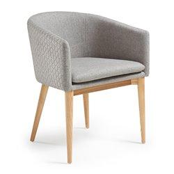 Кресло Harmon светло-серое CC0078JQ03, La Forma (ex. Julia Grup)