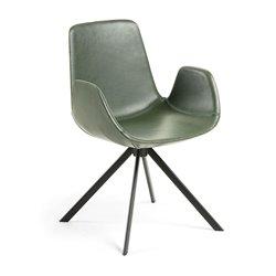 Кресло YASMIN зеленое CC0827U06, La Forma (ex. Julia Grup)