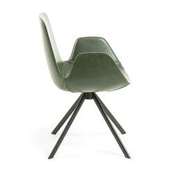 Кресло YASMIN зеленое CC0827U06, La Forma (ex Julia Grup)