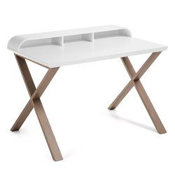 Письменный стол Success белый C320L05, La Forma (ex. Julia Grup)