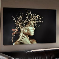 Картина MUJER DORADA 150x100, Schuller