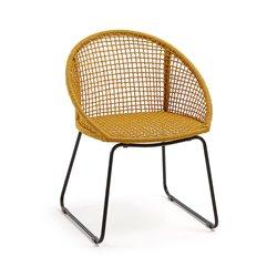 Кресло Sandrine горчичное, La Forma (ex Julia Grup)